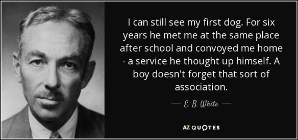 EB White quote